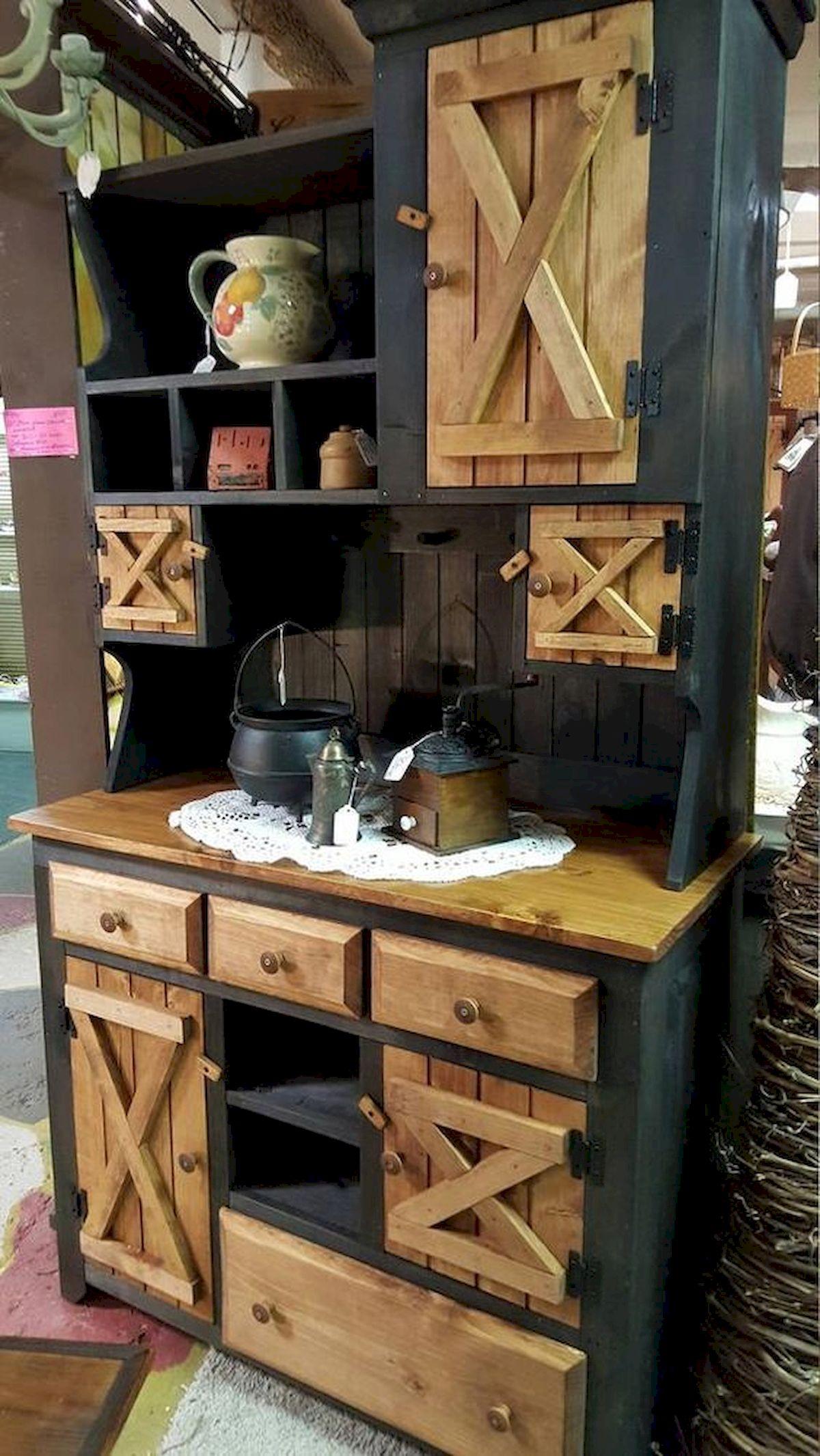 50 Amazing DIY Pallet Kitchen Cabinets Design Ideas (23 ...