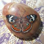 55 Cute DIY Painted Rocks Animals Butterfly Ideas (30)