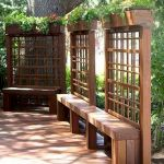 60 Awesome DIY Backyard Privacy Design and Decor Ideas (10)