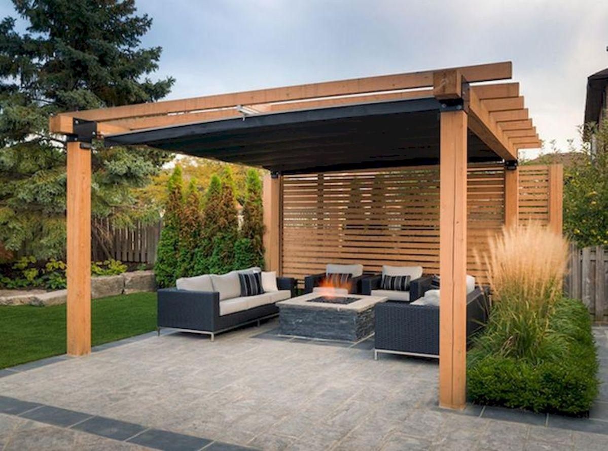 60 Awesome DIY Backyard Privacy Design and Decor Ideas (11)