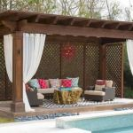 60 Awesome DIY Backyard Privacy Design And Decor Ideas (8)