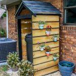 60 Awesome DIY Pallet Garden Bench and Storage Design Ideas (25)