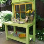60 Awesome DIY Pallet Garden Bench and Storage Design Ideas (42)