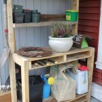 60 Awesome DIY Pallet Garden Bench and Storage Design Ideas (50)
