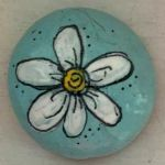 60+ Beautiful DIY Painted Rocks Flowers Ideas (25)