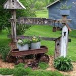 60 Creative DIY Garden Art From Junk Design Ideas (34)