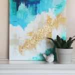 60 Easy DIY Canvas Painting Ideas For Decorate Your Home (25)