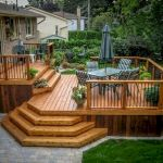 50 Best DIY Backyard Patio And Decking Design Ideas (12)