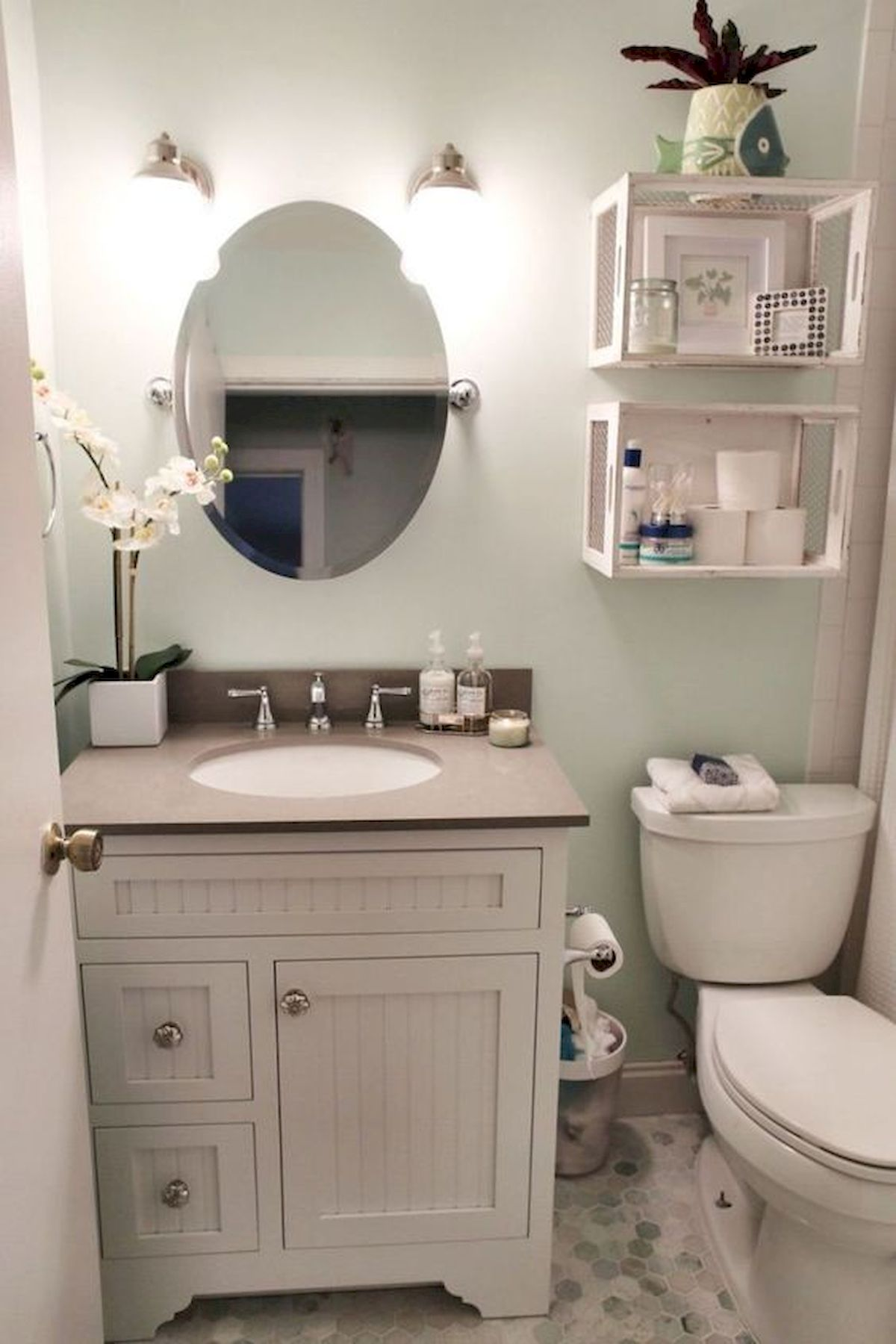 50 Best DIY Storage Design Ideas To Maximize Your Small Bathroom Space (12)