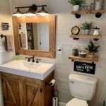 50 Best DIY Storage Design Ideas To Maximize Your Small Bathroom Space (18)