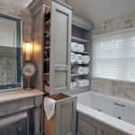50 Best DIY Storage Design Ideas To Maximize Your Small Bathroom Space (23)