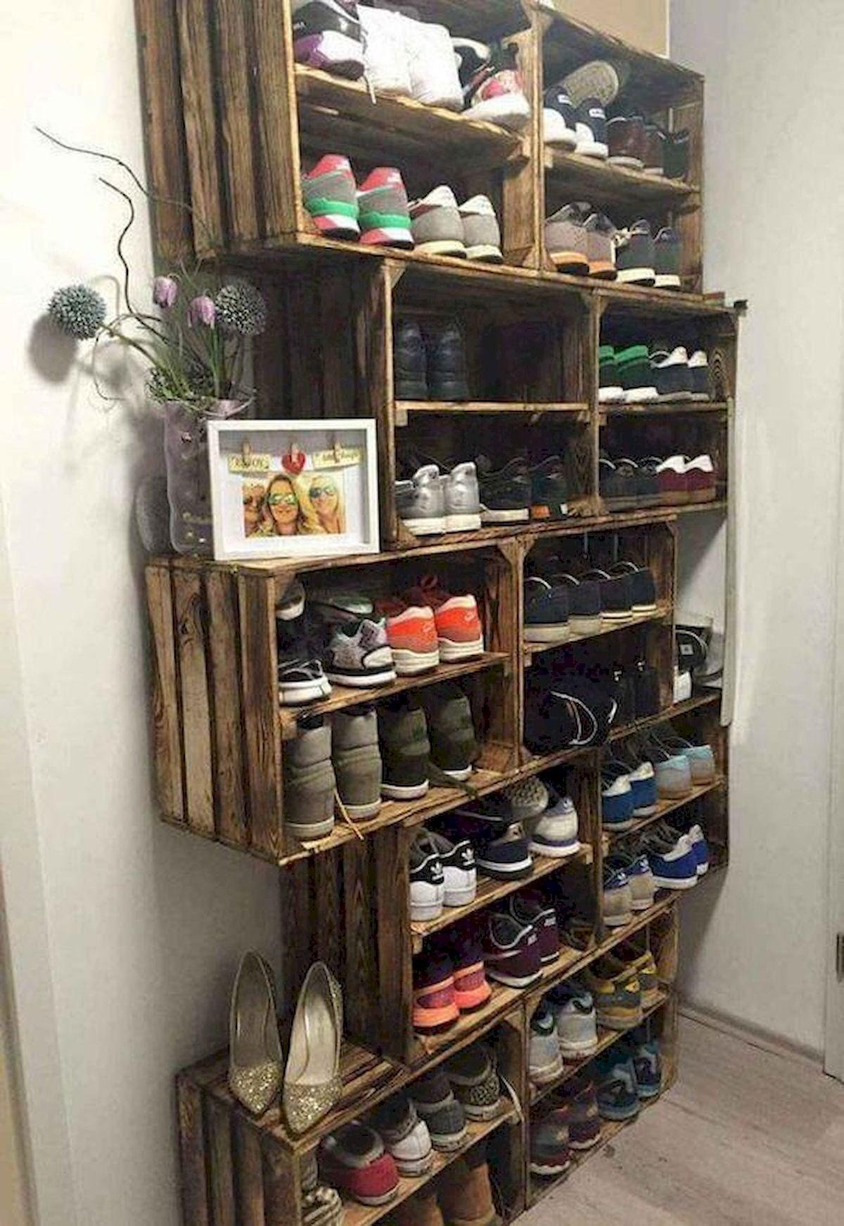 50 Fantastic DIY Shoes Rack Design Ideas (36)