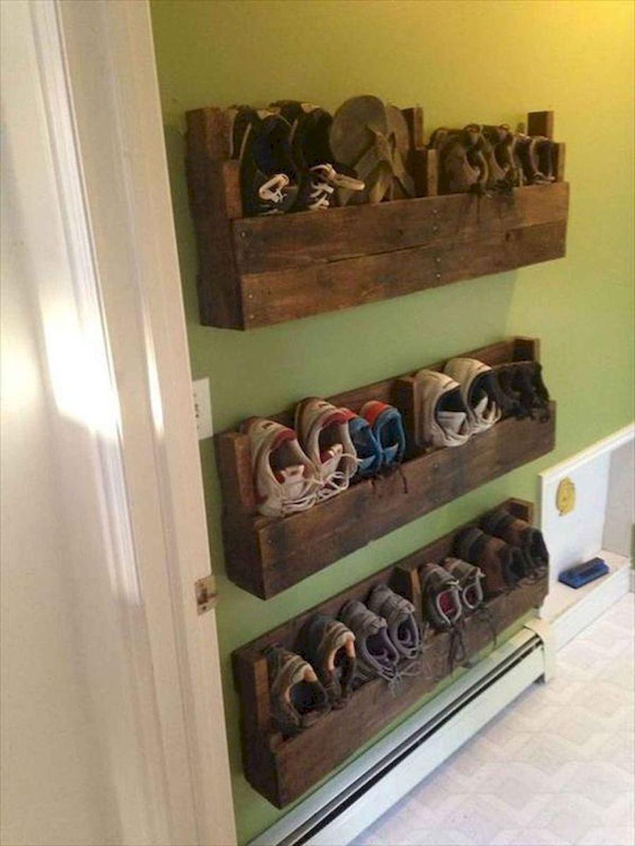 50 Fantastic DIY Shoes Rack Design Ideas (43)