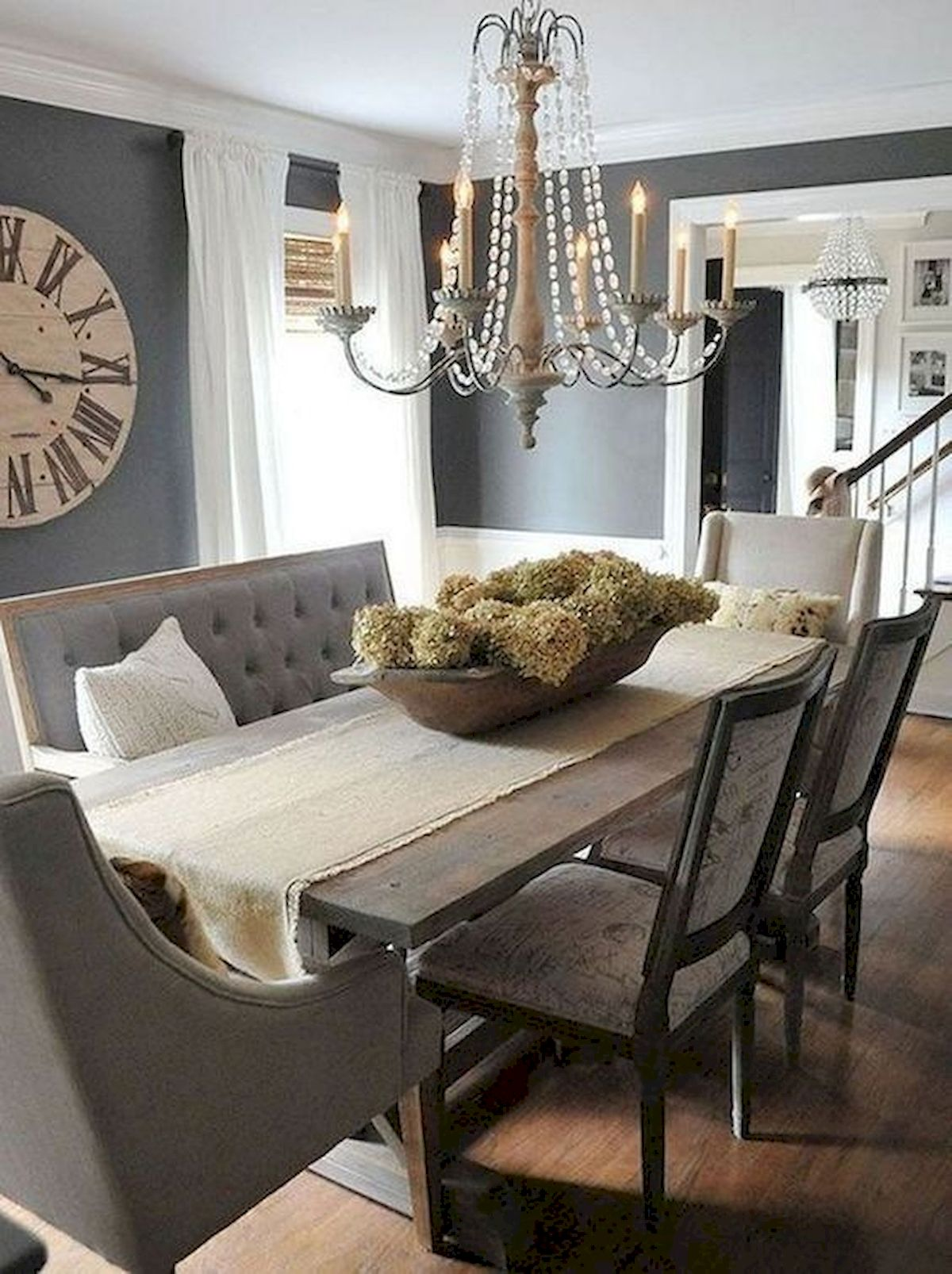 50 Nice DIY Furniture Projects For Dining Rooms Tables Design Ideas (24)