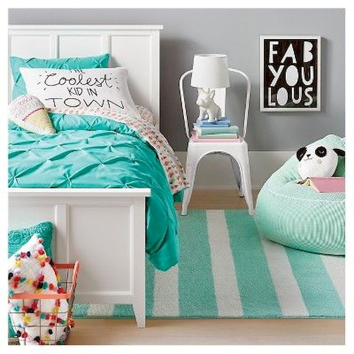 60 Cute DIY Bedroom Design and Decor Ideas for Kids (2)
