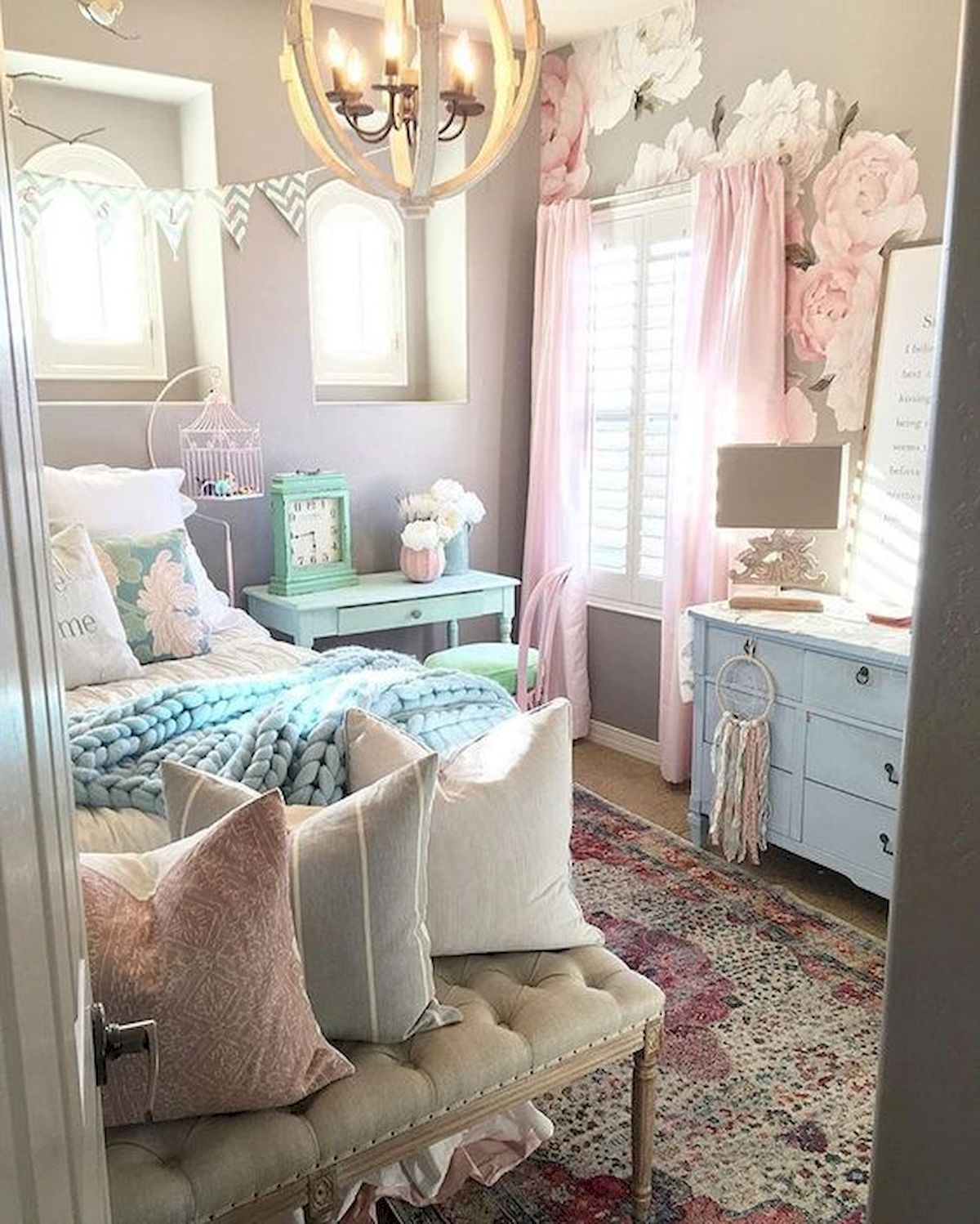 60 Cute DIY Bedroom Design And Decor Ideas For Kids (20)