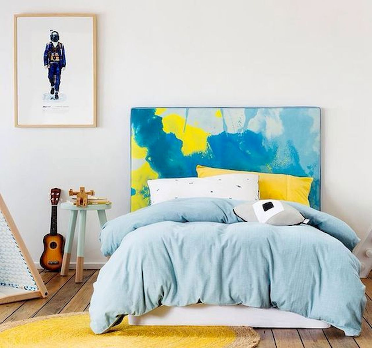 70 Beautiful DIY Colorful Bedroom Design Ideas And Remodel (46)