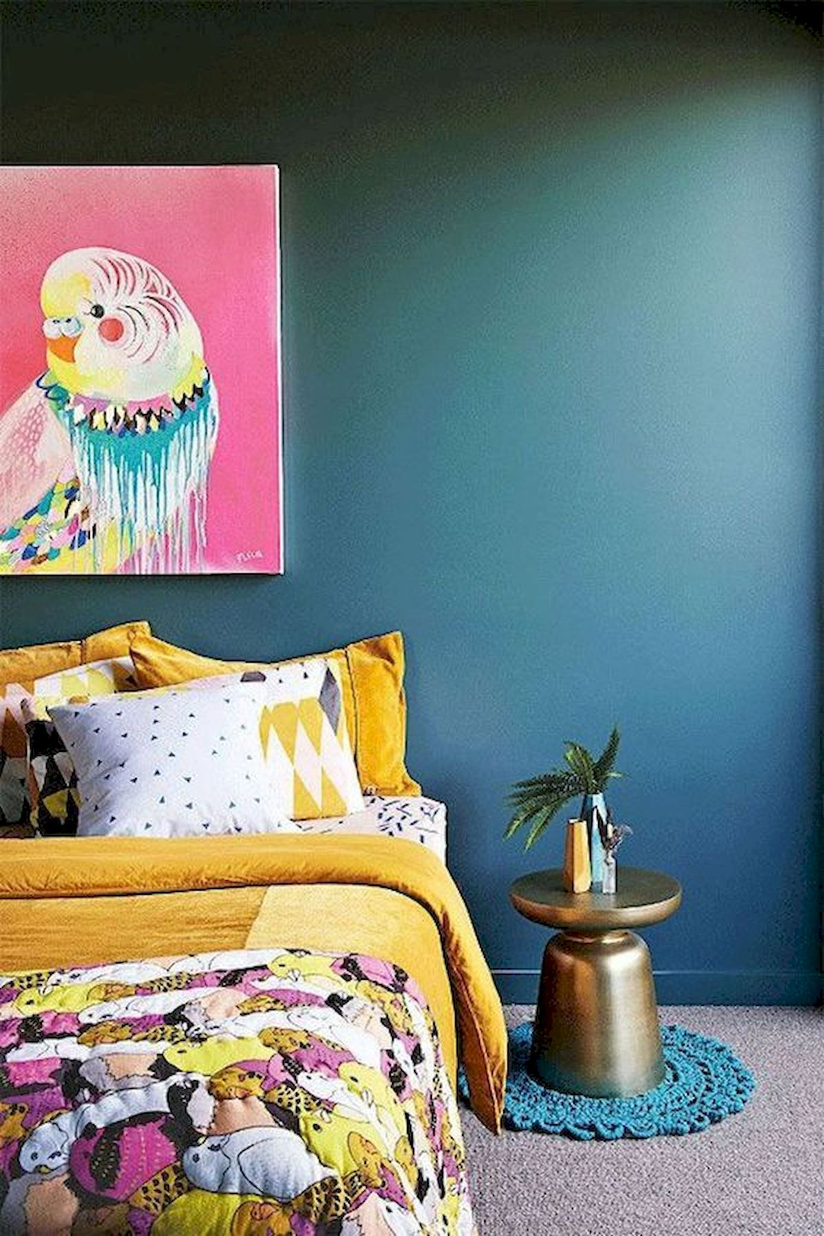 70 Beautiful DIY Colorful Bedroom Design Ideas And Remodel (6)