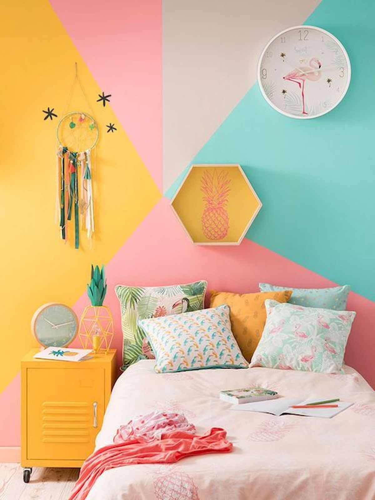70 Beautiful DIY Colorful Bedroom Design Ideas And Remodel (60)