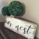 55 Inspiring DIY Farmhouse Decor Ideas On A Budget (29)
