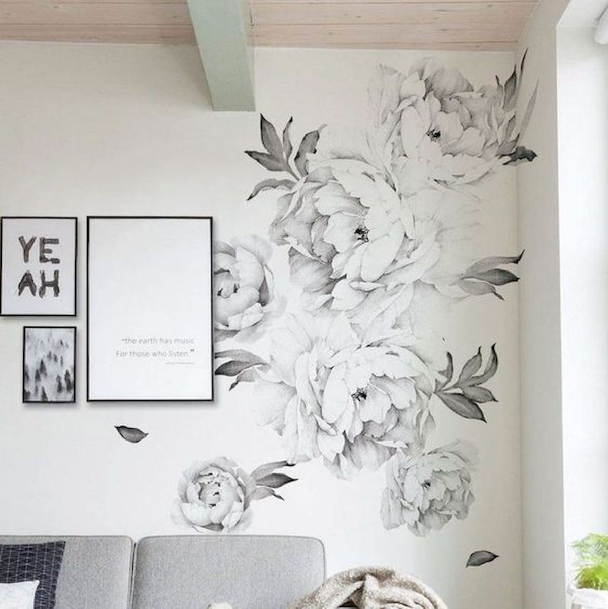 44 Easy but Awesome DIY Wall Painting Ideas to Decorate Your Home (5)