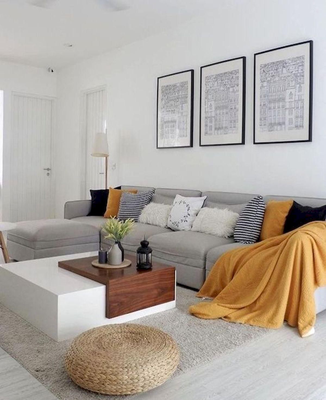 45 Brilliant DIY Living Room Design And Decor Ideas For Small Apartment (33)