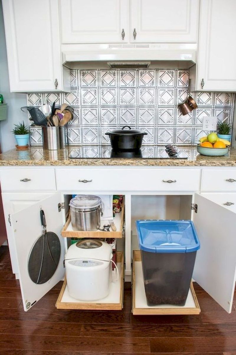 46 Creative DIY Small Kitchen Storage Ideas (33)