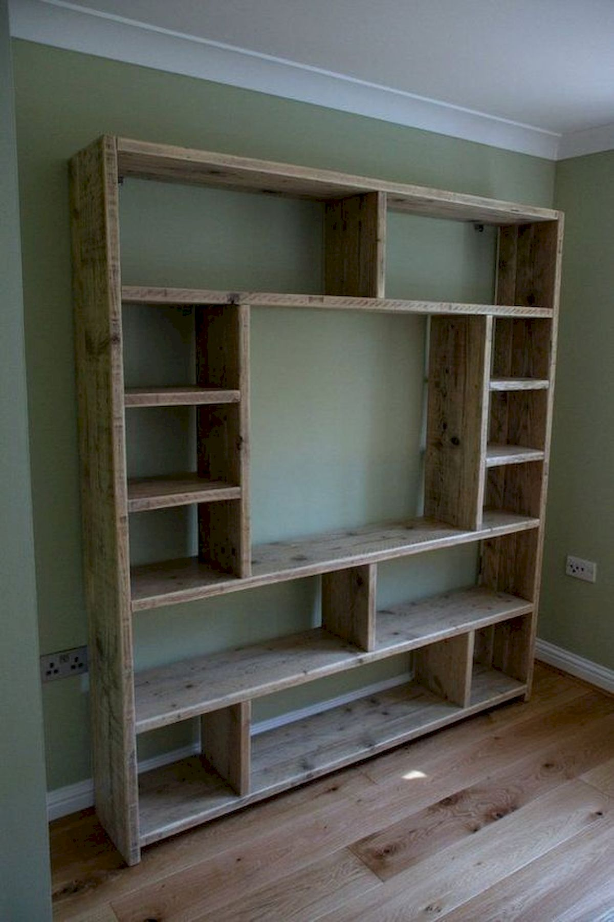 50 Easy DIY Bookshelf Design Ideas (10)