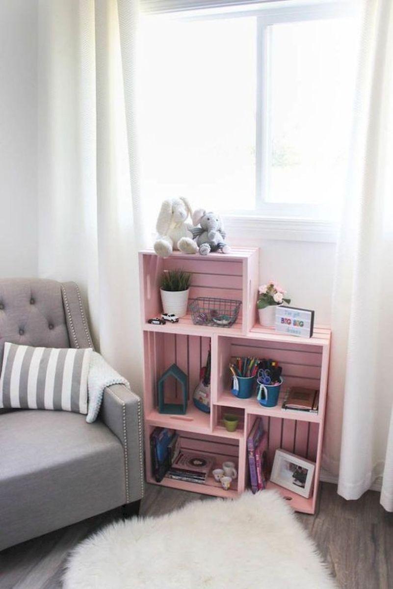 50 Easy DIY Bookshelf Design Ideas (19)