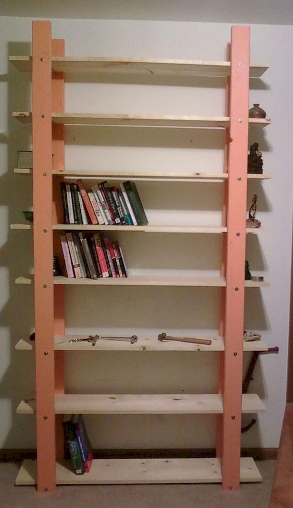 50 Easy DIY Bookshelf Design Ideas (27)