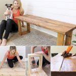 40 Awesome DIY Outdoor Bench Ideas For Backyard And Front Yard Garden (31)