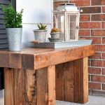 40 Awesome DIY Outdoor Bench Ideas For Backyard and Front Yard Garden (37)