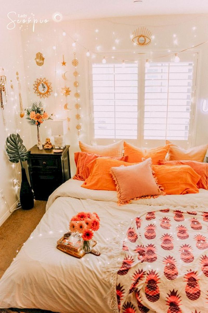 30 Awesome DIY Fall Decoration Ideas For Your Bedroom (30)