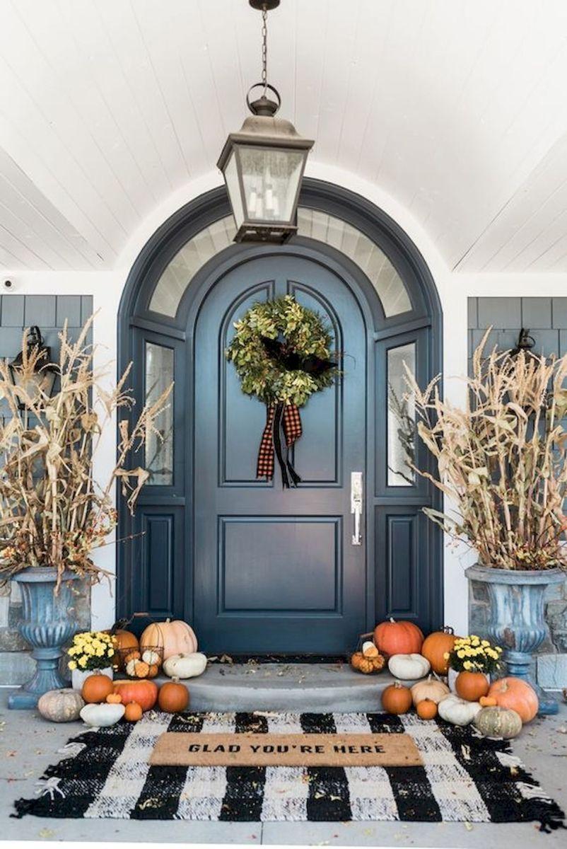 40 Fantastic DIY Fall Front Porch Decorating Ideas (6)