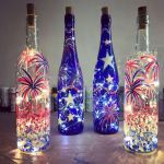 40 Fantastic DIY Wine Bottle Crafts Ideas With Lights (8)