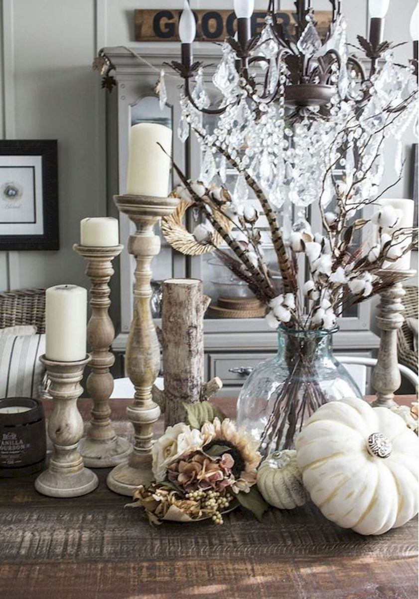 40 Gorgeous DIY Fall Decoration Ideas For Living Room (38)