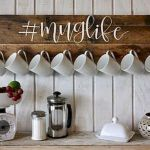 35 Easy DIY Wooden Pallet Mug Rack Ideas Everyone Can Do This (9)