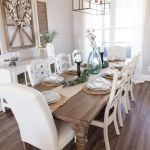20 Awesome Farmhouse Dining Room Decor Ideas and Remodel (17)