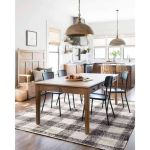 20 Awesome Farmhouse Dining Room Decor Ideas and Remodel (18)