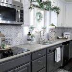 20 Beautiful Farmhouse Kitchen Backsplash Decor Ideas and Remodel (14)