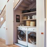 20 Beautiful Farmhouse Laundry Room Decor Ideas and Remodel (4)