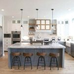 20 Beautiful Modern Farmhouse Kitchens Decor Ideas And Remodel (7)