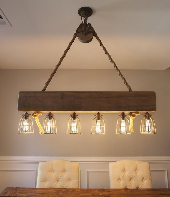 20 Best Farmhouse Dining Room Lighting Decor Ideas and Remodel (17)