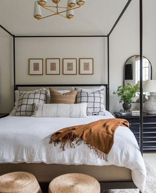 20 Best Industrial Farmhouse Bedroom Decor Ideas And Remodel (3)