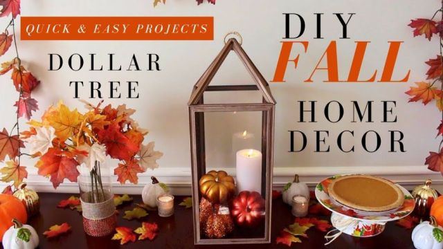Top diy fall decor dollar tree