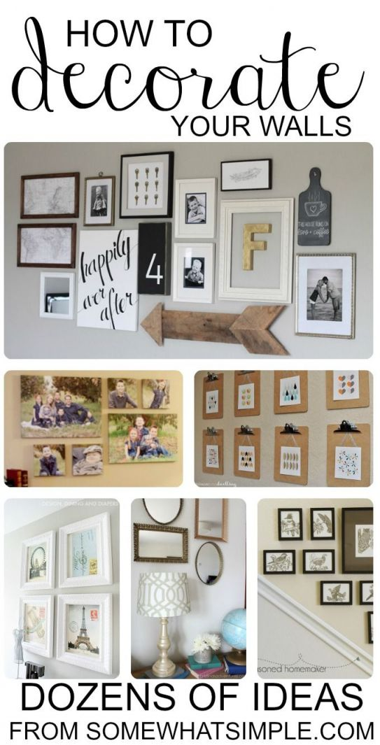 Adorable diy wall decor for living room