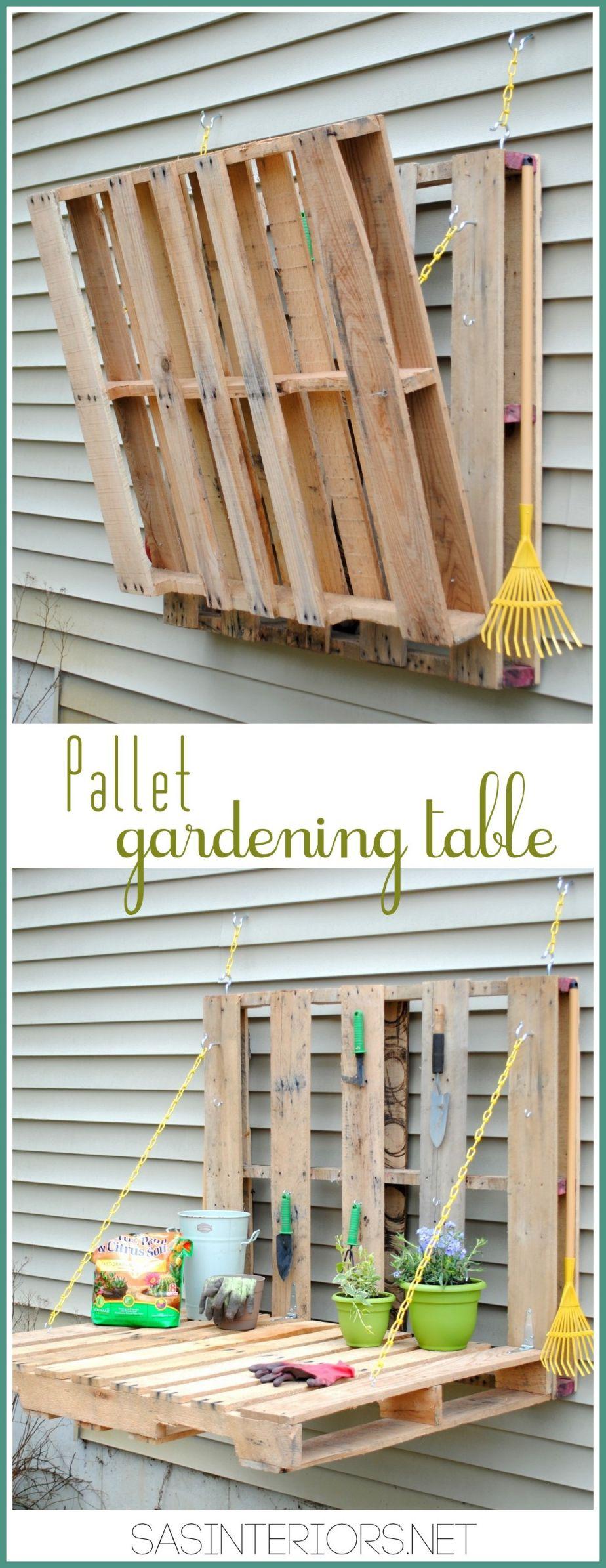 Amazing Wooden Pallet Ideas For Garden