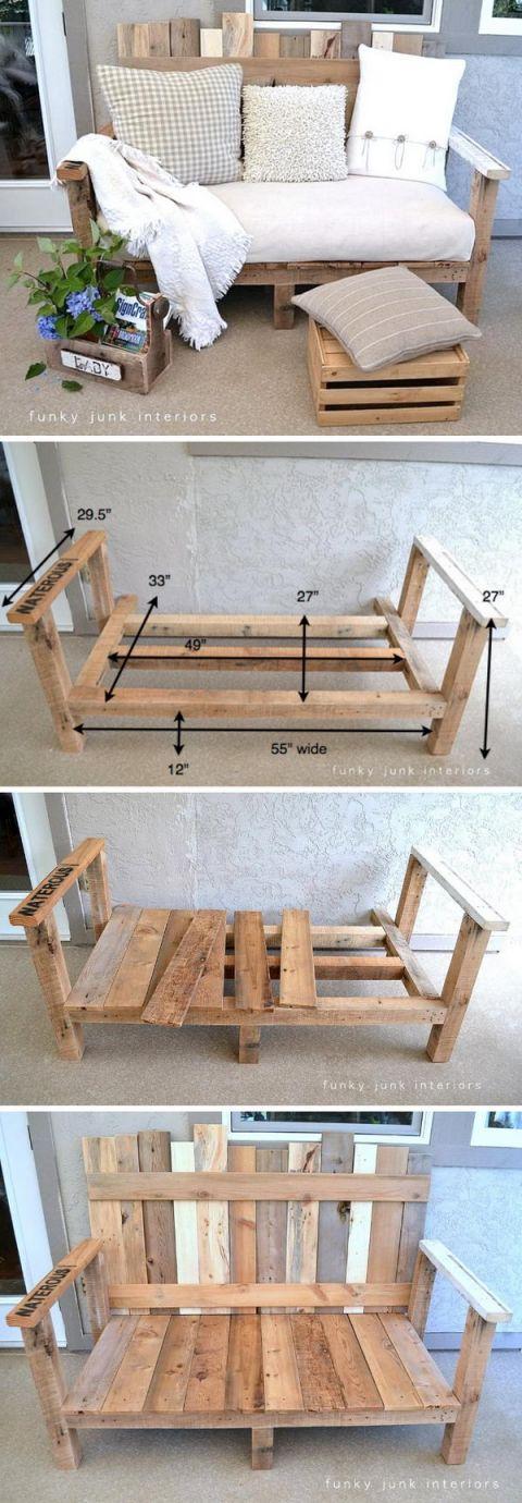 Best pallet craft ideas