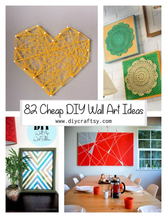 Top cheap diy home decor ideas