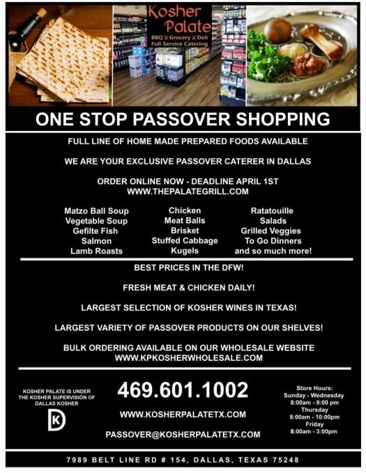 Kosher for Pesach 2